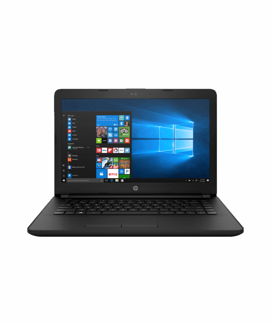 HP 14-bs732tu - Intel® Core™i3, 4GB RAM, 1TB Hard Drive, 14″ HD Screen, DVD Burner, Windows 10 Home
