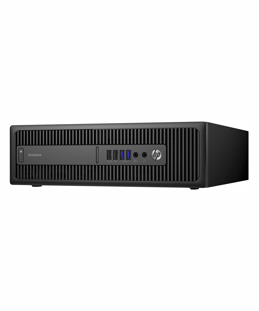 HP EliteDesk 800 G2 SFF: Intel Core i5, 4gb RAM, 500gb HDD, Windows 10 Pro