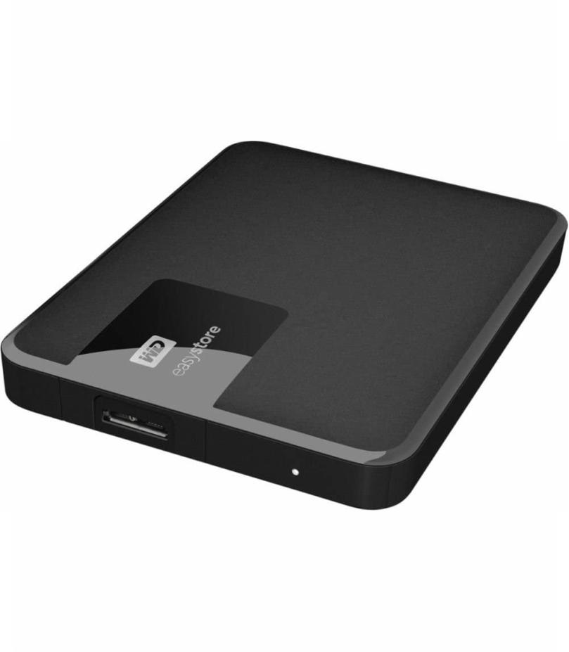 Western Digital Easy Store Portable External Hard Drive 4tb
