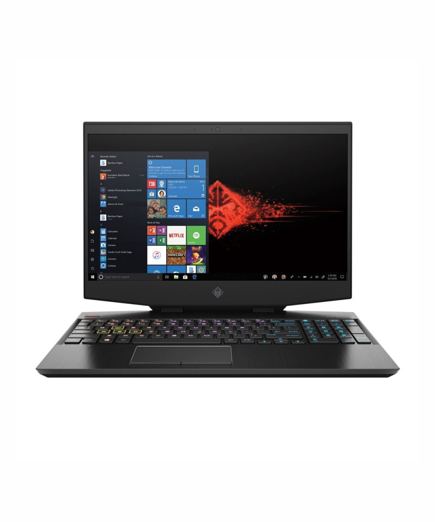 HP OMEN Laptop - 15-dh1053nr Intel Core i7 10th Gen, 32gb RAM, 1tb SSD, 15.6'', Backlit Keyboard, 8gb NVidia GeForce RX 2070 MAX-Q Graphics