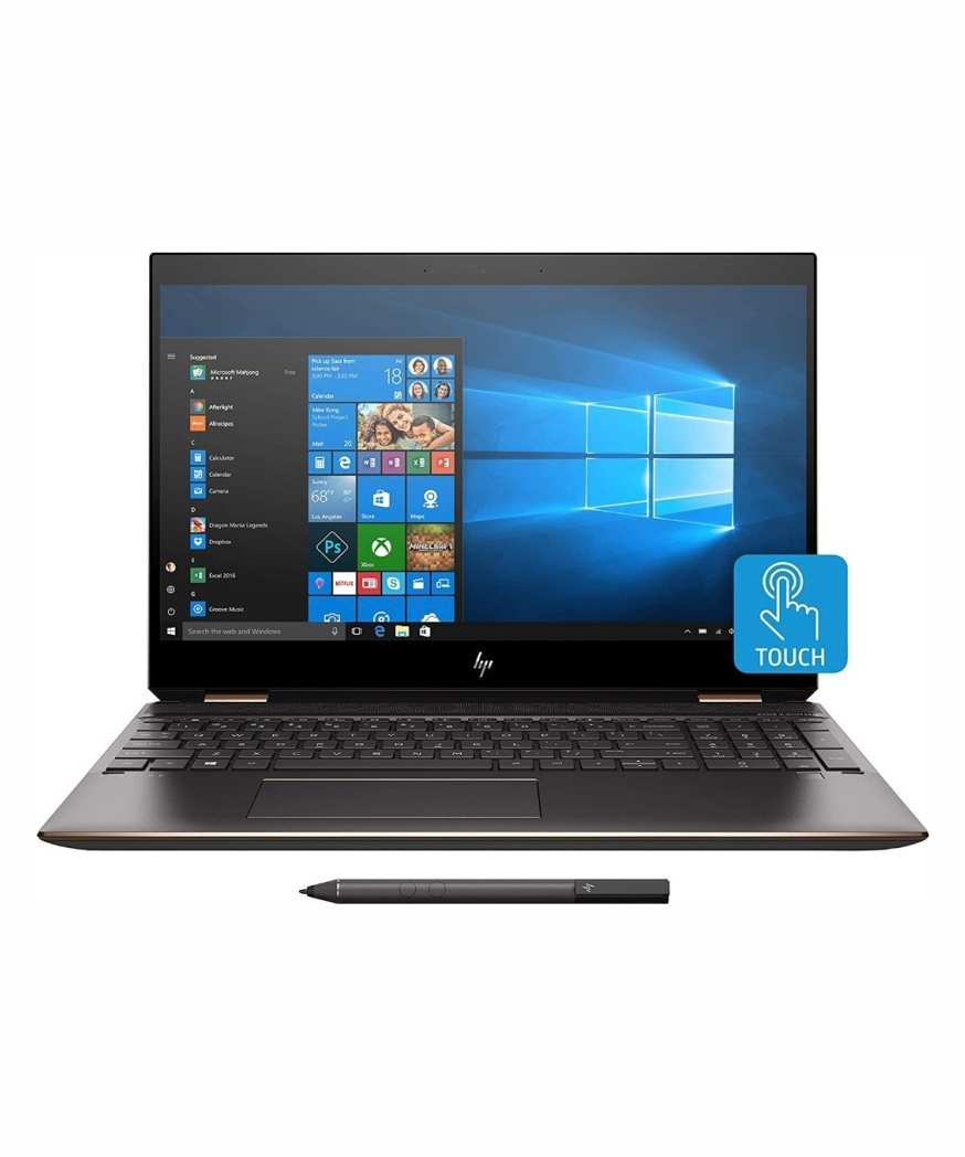HP SPECTRE X360 15 Intel Core i7 10th Gen, 16gb RAM, 1tb SSD, 4gb Nvidia GeForce GTX 1650 TI, Backlit Keyboard, 15.6'' 4K IPS Display Touchscreen, Convertible