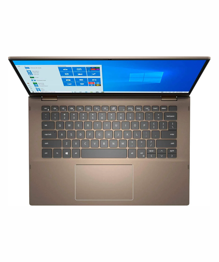 DELL INSPIRON 14 2-IN-1 7405 AMD Ryzen 5 4500U Processor, 8gb RAM, 256gb SSD, 14.1'', Touchscreen, Convertible, Backlit Keyboard, Finger Print Reader, Webcam, Bluetooth, Wireless, Windows 10