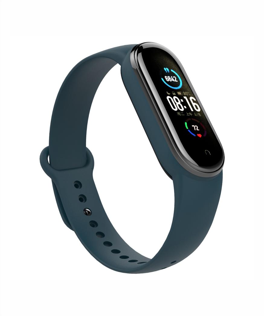 MI XIAOMI BAND 5 Fitness Tracker/Sleep Tracker/Message Reminder/Call Reminder/Remote Control Phone Camara/Push Message/Alarm Clock/Chronograph/Social Media Notification