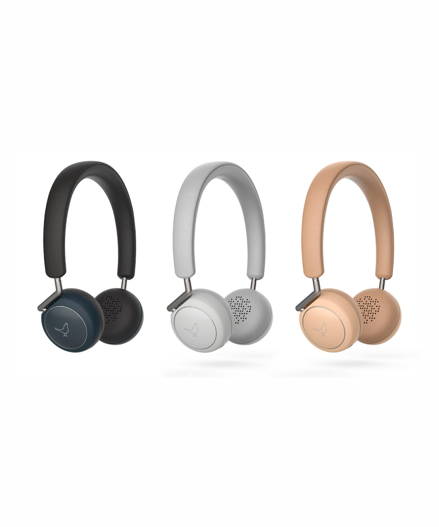 LIBRATONE Q ADAPT  Active Noise Cancelling Headphones, Wireless Bluetooth Over Ear Headset w/Mic, CSR 8670 Chip, aptX Lossless Hi-Fi Sound with Deep Bass, 20 Hours Playtime for Travel Work
