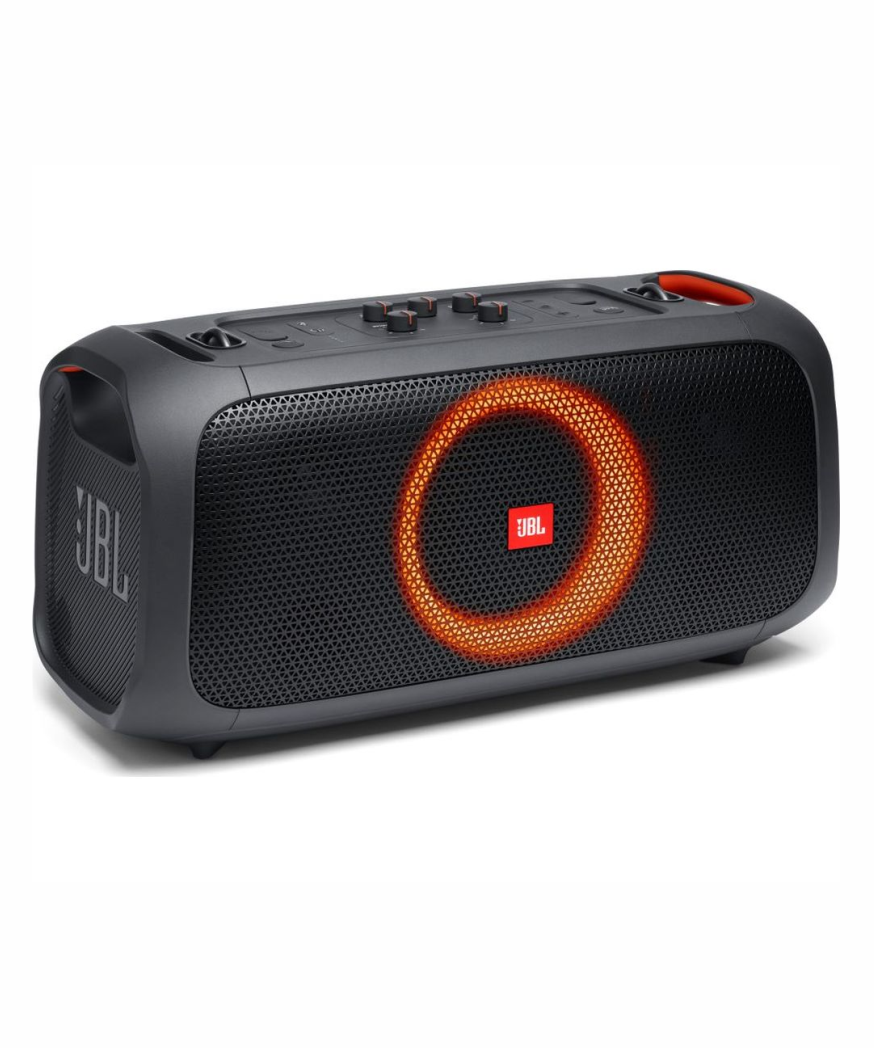 JBL PARTY BOX ON THE GO JBL Party Box On-The-Go - Portable Party Speaker with Built-in Lights and Wireless Mic